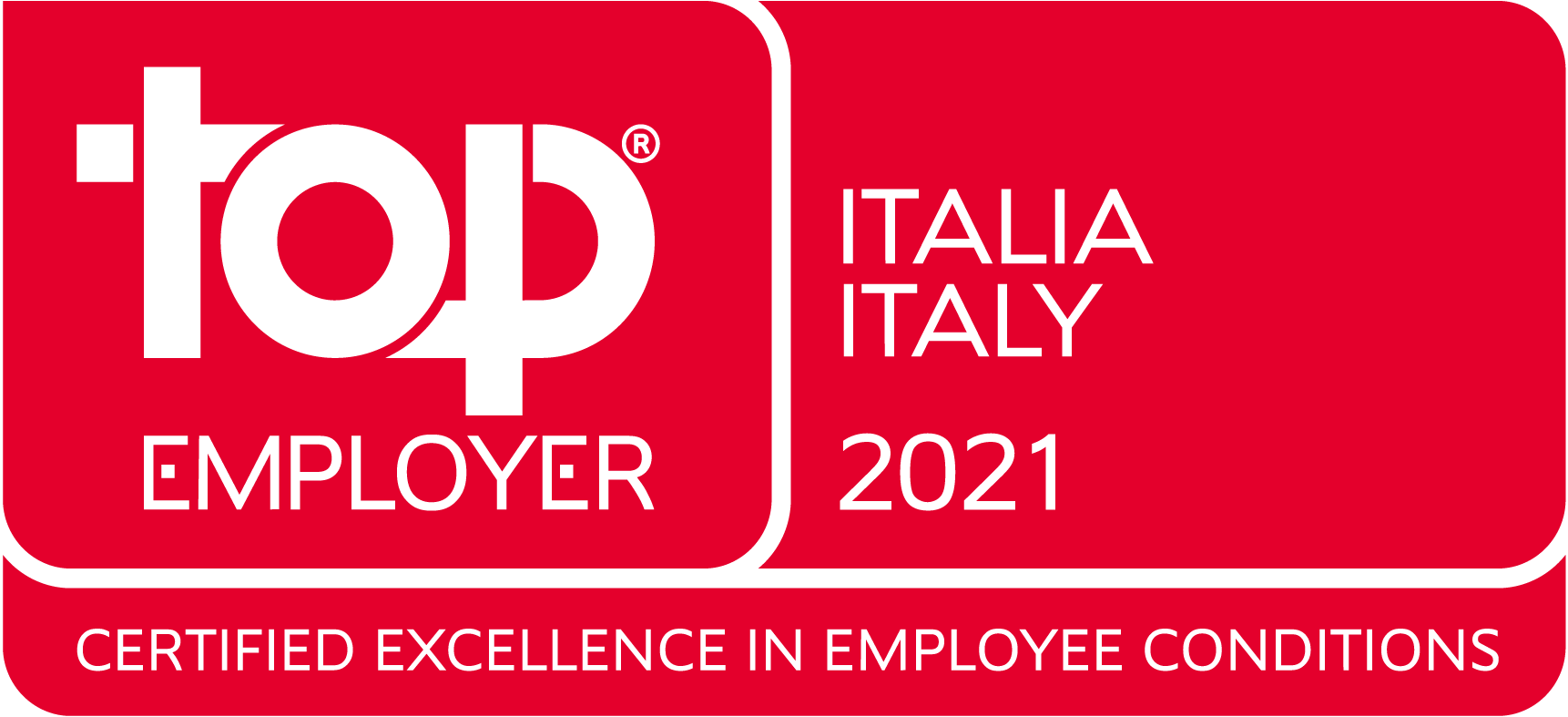 Logo Top Employer Italy 2021